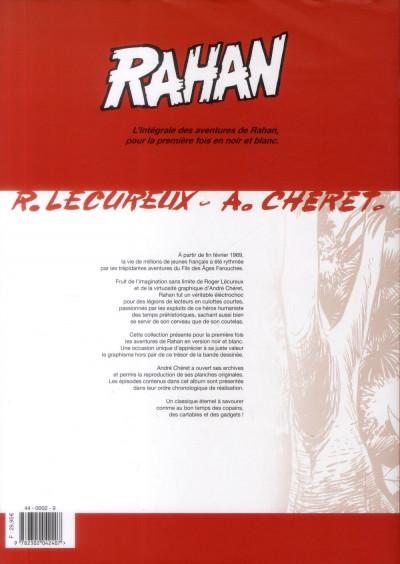 Dos Rahan - intégrale noir et blanc tome 10