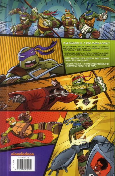 Dos Teenage Mutant Ninja Turtles - Les Nouvelles Aventures tome 1