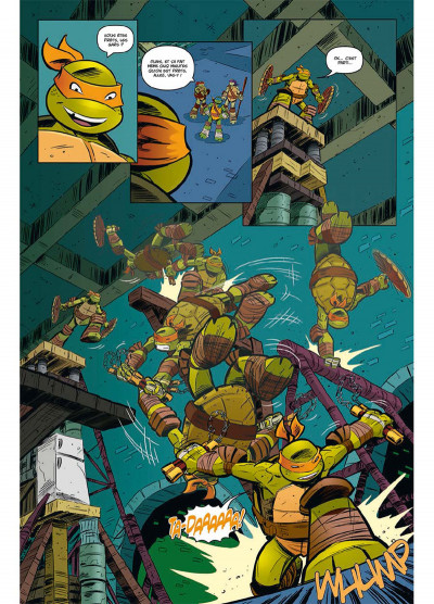 Page 1 Teenage Mutant Ninja Turtles - Les Nouvelles Aventures tome 1