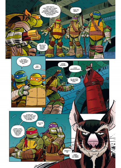 Page 2 Teenage Mutant Ninja Turtles - Les Nouvelles Aventures tome 1