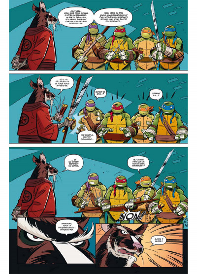 Page 3 Teenage Mutant Ninja Turtles - Les Nouvelles Aventures tome 1