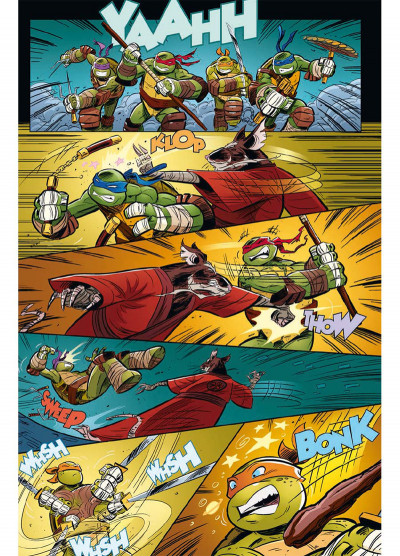 Page 4 Teenage Mutant Ninja Turtles - Les Nouvelles Aventures tome 1
