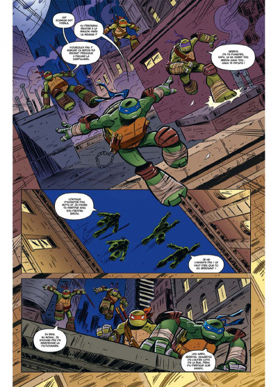 Page 6 Teenage Mutant Ninja Turtles - Les Nouvelles Aventures tome 1