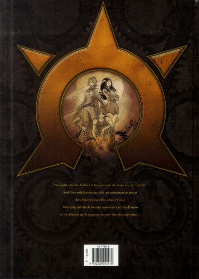 Dos Les Naufragés d'Ythaq tome 12