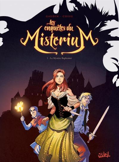 image de Les enquêtes du Misterium tome 1 - Le mystère Baphomet