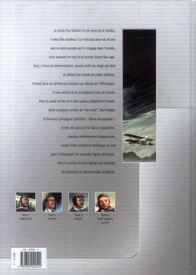 Dos L'Aéropostale - Des pilotes de légende tome 3 - Vachet