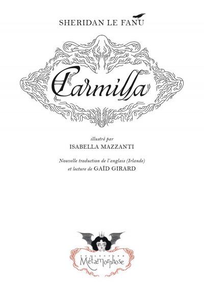Page 1 Carmilla