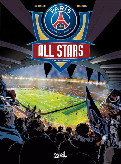 Couverture PSG All Stars