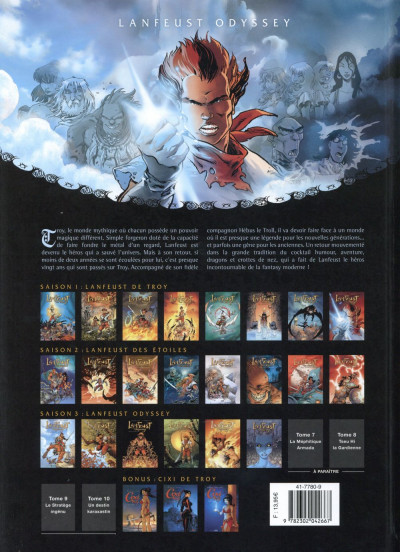 Dos Lanfeust Odyssey tome 6
