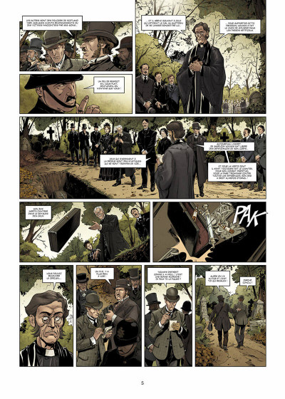 Page 6 Dr Watson tome 1 - Le Grand Hiatus 1