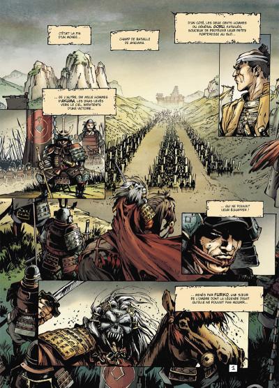 Page 1 Samurai légendes tome 3