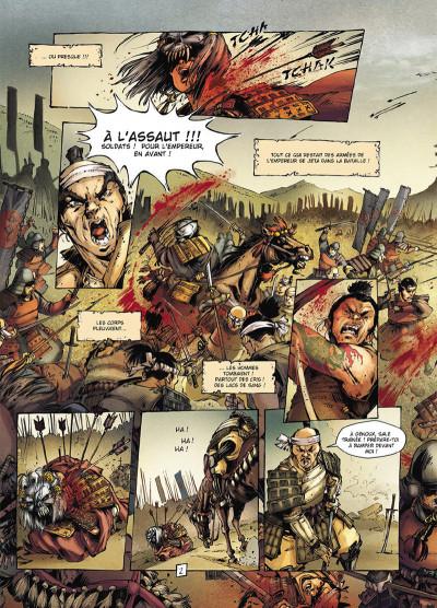 Page 2 Samurai légendes tome 3