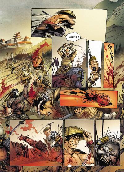 Page 3 Samurai légendes tome 3