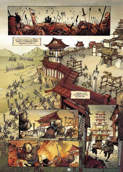 Page 4 Samurai légendes tome 3