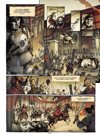 Page 5 Samurai légendes tome 3