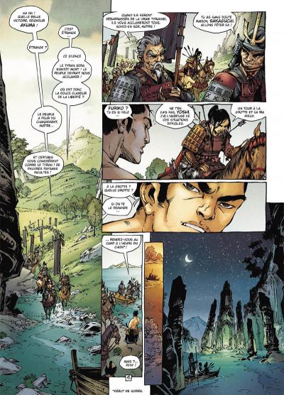 Page 6 Samurai légendes tome 3