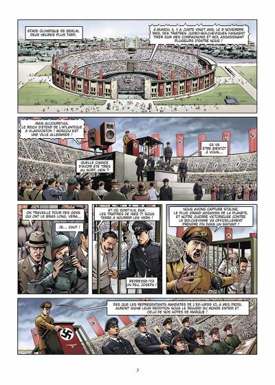 Page 8 Wunderwaffen présente Space Reich tome 1