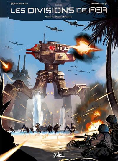 image de Les Divisions de fer tome 2 - Pacific Invasion 1948