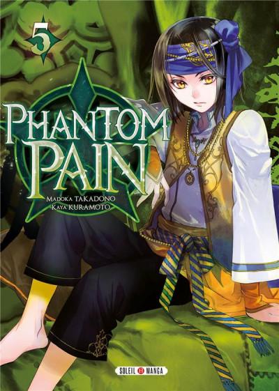 Couverture Phantom Pain tome 5