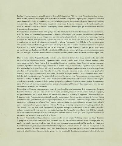 Page 7 Marie-Antoinette - Carnet secret d'une reine