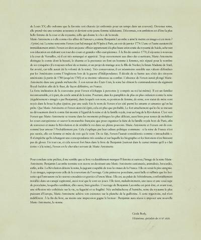 Page 8 Marie-Antoinette - Carnet secret d'une reine