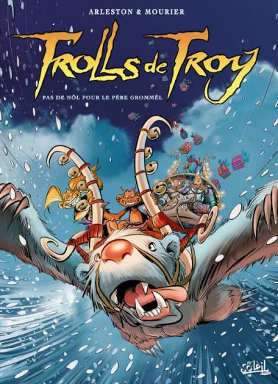 Couverture Trolls de Troy tome 19 - Pas de Nöl pour le père Grommël