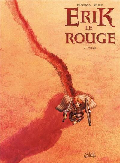 Couverture Erik le Rouge tome 2 - Vinland