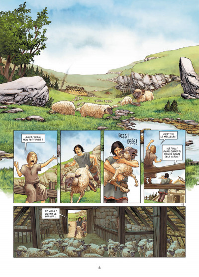 Page 1 Erik le Rouge tome 2 - Vinland