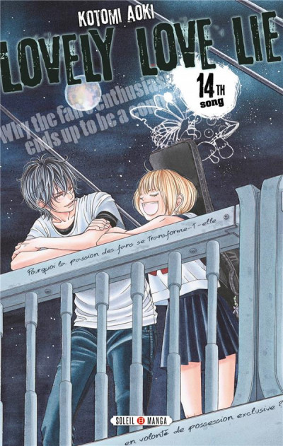 Couverture Lovely Love Lie tome 14