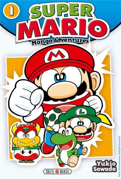 Couverture Super Mario - Manga Adventures tome 1