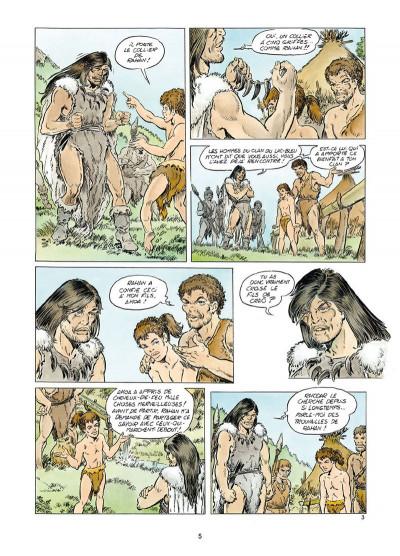 Page 3 Rahan tome 1 - Le Retour au mont Bleu