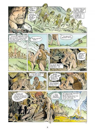 Page 4 Rahan tome 1 - Le Retour au mont Bleu
