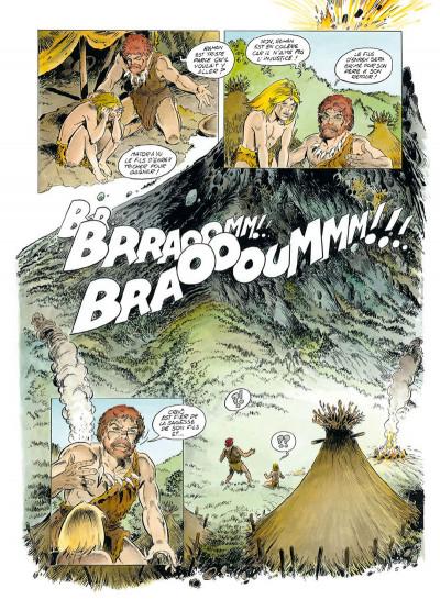 Page 5 Rahan tome 1 - Le Retour au mont Bleu