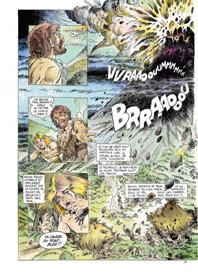 Page 6 Rahan tome 1 - Le Retour au mont Bleu