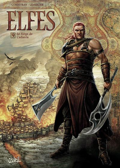 image de Elfes tome 9 - Le Siège de Cadanla