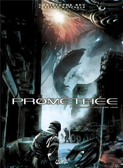 Couverture Prométhée tome 11 - Le Treizième Jour