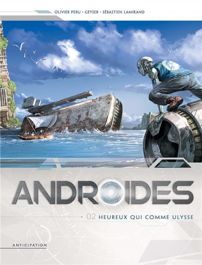 Couverture Androïdes tome 2
