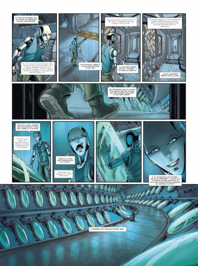 Page 2 Androïdes tome 2