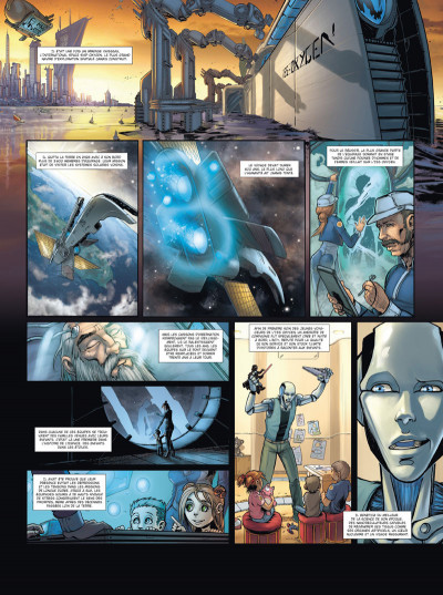 Page 3 Androïdes tome 2