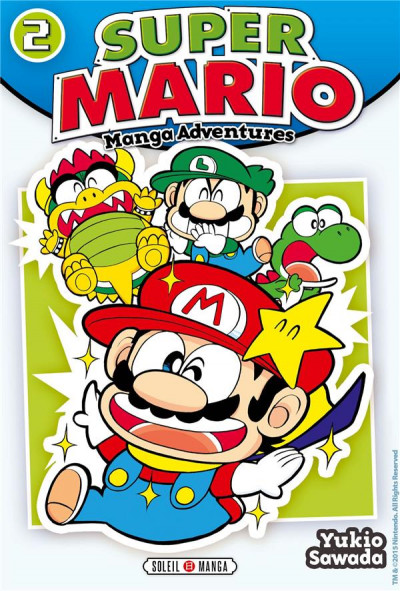 Couverture Super Mario - Manga Adventures tome 2