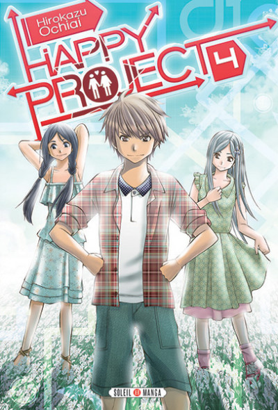 Couverture Happy Project tome 4