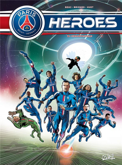Couverture PSG Heroes tome 1