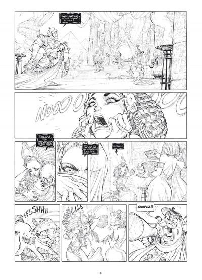 Page 1 Ekhö monde miroir tome 3 - Édition luxe noir et blanc