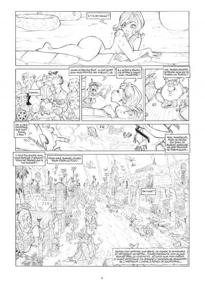 Page 6 Ekhö monde miroir tome 3 - Édition luxe noir et blanc