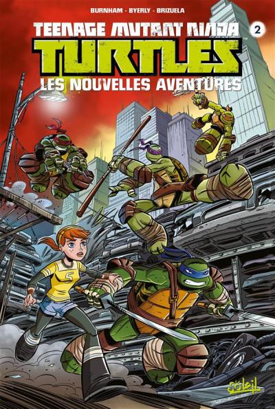 Couverture Teenage Mutant Ninja Turtles - Les Nouvelles Aventures tome 2