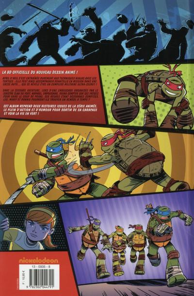 Dos Teenage Mutant Ninja Turtles - Les Nouvelles Aventures tome 2