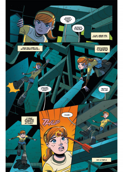 Page 1 Teenage Mutant Ninja Turtles - Les Nouvelles Aventures tome 2