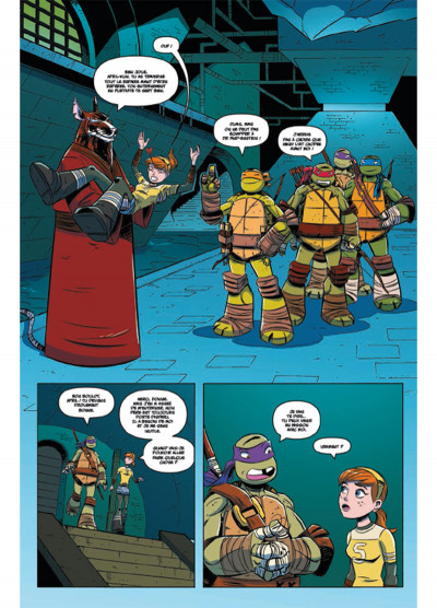Page 2 Teenage Mutant Ninja Turtles - Les Nouvelles Aventures tome 2