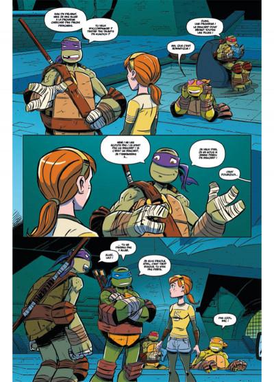 Page 3 Teenage Mutant Ninja Turtles - Les Nouvelles Aventures tome 2