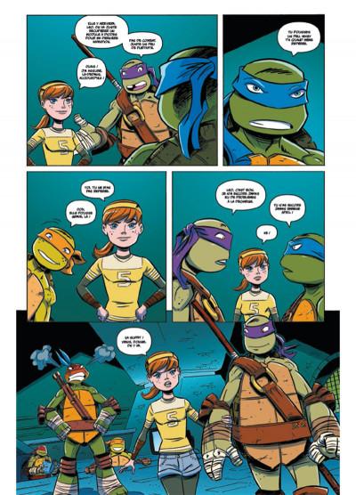 Page 4 Teenage Mutant Ninja Turtles - Les Nouvelles Aventures tome 2